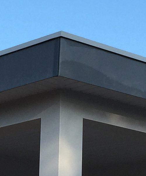 Toiture zinc pr patin fa ade fibro ciment teilatu - Toiture fibro ciment amiante ...